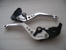 Triumph DAYTONA 675 R (11-15), CNC levers short silver/black adjusters, F11/T333